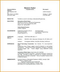 Usa Resume Template by American Format Resume Resume Template Skills Based