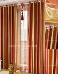 Burnt Orange Sheer Curtains Orange Kitchen Curtains Niavisdesign