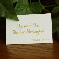 Classic Name Card Design Wedding Card Design Simple Style Amazing Design Place Cards For