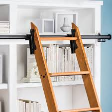 Library Bookcases With Ladder Library Ladder Ebay