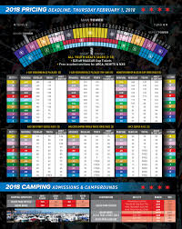 Map Of Joliet Il Seating And 2018 Pricing Chart Chicagoland Speedway