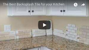 what is the best backsplash for a kitchen vancouver interior designer the best backsplash tile for