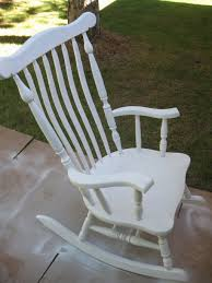 White Rocking Chair For Nursery by Rocking Chair Redo Huckleberry Stew