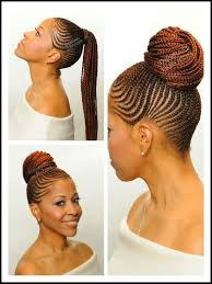 hair pony tail for african hair cornrow ponytail natural hair style braids pinterest cornrow