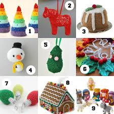 18 crochet ornaments to make this my poppet makes