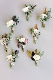 Groomsmen Boutonnieres So Much To Love About This Flowers Pinterest Boutonnieres