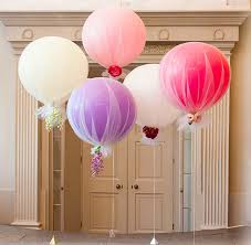 36 inch balloons pop pink tulle make 24 36 inch balloon hot air balloons