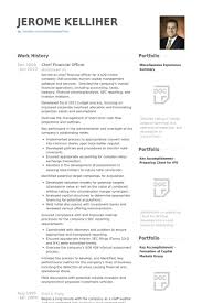 Finance Resume Samples Doc by Chief Financial Officer Resume Samples Visualcv Resume Samples