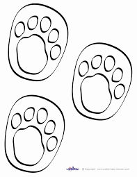 dinosaur footprint coloring pages coloring home