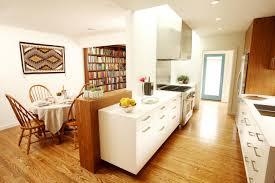 modern galley kitchen mid century modern galley kitchen the kitchen which is light airy