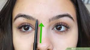 proper way to fill in eyebrows 4 ways to groom brows wikihow