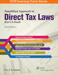 simplified approach to direct tax laws for ca final buy