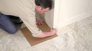 Tile Floor Installers Installing Your Peel And Stick Vinyl Tile Floor