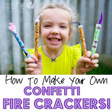 firecrackers for kids how to make confetti crackers with your kids