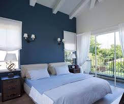 Contemporary Blue Bedroom - contemporary blue and white master bedroom interior new at kids