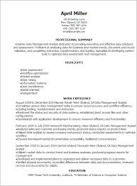 Master Data Management Resume Samples by Professional Data Management Analyst Resume Templates To Showcase
