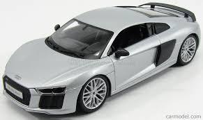 Audi R8 Silver - maisto 36213s scale 1 18 audi r8 v10 plus coupe 2015 silver carbon