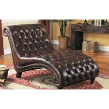 bedroom furniture sets leather chaise lounge chair leather