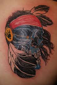 ohio state tattoos designs 34 best indian skull tattoo designs images on pinterest skull