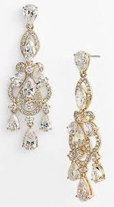 Chandelier Gold Earrings Zspmed Of Gold Chandelier Earrings Great For Home Designing