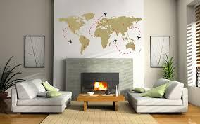 world travel flight map wall decal the decal guru