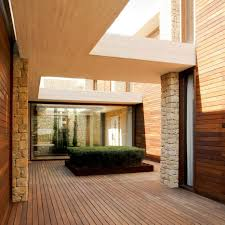 modern homes with courtyards home design houses interior courtyard