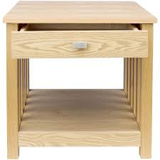 Ashton Bedroom Furniture by Ashton Lamp Table 1 Drawer Solid Wood Side Bedroom Hallway