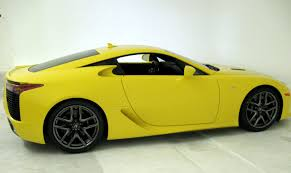 lexus lfa website first photos of the yellow lexus lfa lexus enthusiast