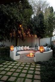 backyard landscaping with pit steel pit custom backyard ideas landscaping diy cheap metal