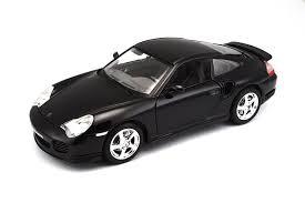 porsche 911 model cars amazon com bburago porsche 911 turbo 1 18 scale toys