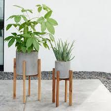 unique black modern hanging planter www best planters ideas on