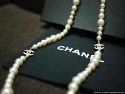 brand new pearl necklace images Brand new chanel classic long pearl necklace ghw with swarovski jpg