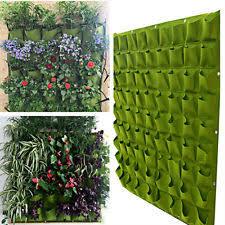 Tierra Verde Planter by 72 Pockets Balcony Herbs Vertical Garden Wall Hanging Planter Bag