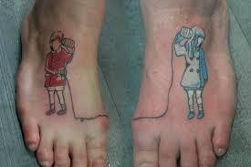 the love creativity the 18 very best couple tattoos u2013 boredbug