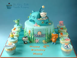 octonauts cake toppers octonauts cake cake by the clever cupcake company