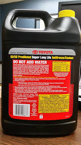 toyota usa price list amazon com toyota genuine fluid 00272sllc2 long life coolant 1