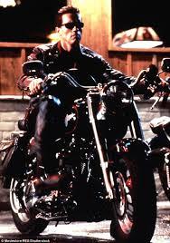 Terminator 2 Halloween Costume Arnold Schwarzenegger Bicycle Leg Fracture