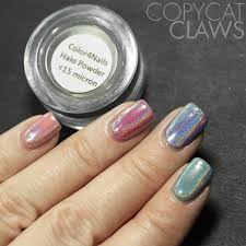 copycat claws color4nails halochrome powder pigment review