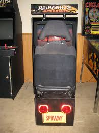 Building A Mame Cabinet How To Build A Sit Down Driving Arcade Cabinet 6 Steps With