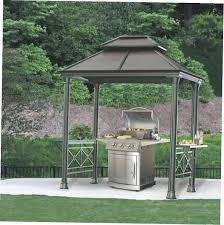 bbq gazebo ideas hardtop canada mainstays grill replacement canopy