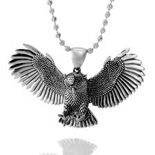 owl necklace silver images The white gold great horned owl necklace hip hop jewelry king gif