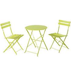 Folding Outdoor Table And Chair Sets Amazon Com Grand Patio Premium Steel Patio Bistro Set Folding