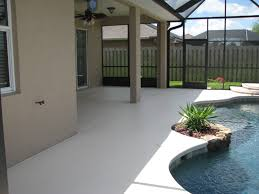 Pictures Of Painted Decks by Pool Deck Repair And Pool Deck Painting In Indialantic Fl