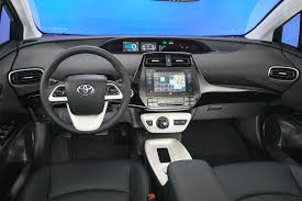Toyota Interior Colors 2016 Toyota Prius First Drive Review U2013 Video