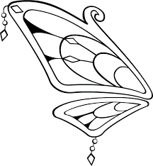 rainbow fairy wings line art by jelena123jecy on deviantart