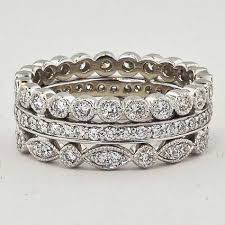 birthstone stackable rings for vintage inspired and stunning the wedding pros the