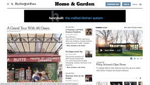 house plans editor the editor at large new york times cancels home garden section new