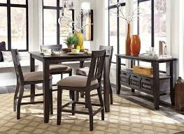 Counter Height Dining Room Set by Dresbar Counter Height Dining Room Set Casual Dining Sets
