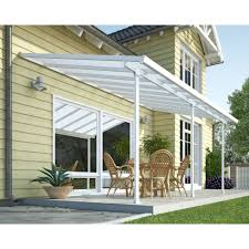 House Awnings Retractable Canada Palram Canada Feria 10 Ft X 20 Ft Patio Cover Lowe U0027s Canada