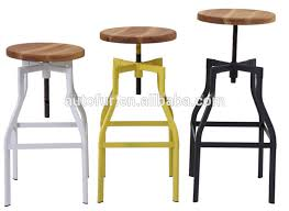 industrial metal bar stools with backs impressive vintage industrial wood and steel counter island